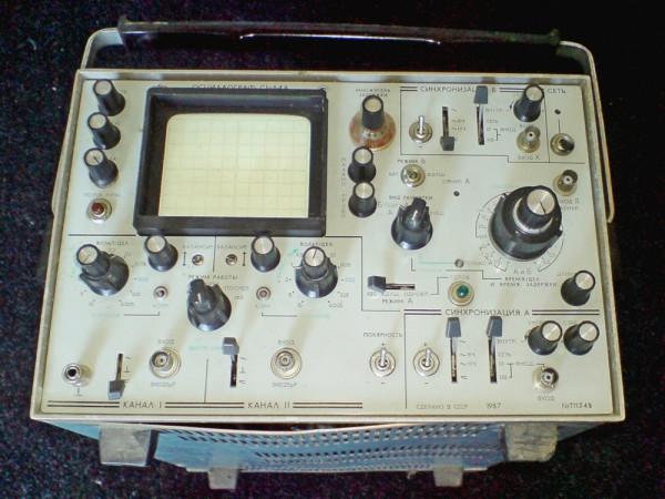 Осциллограф C1-64