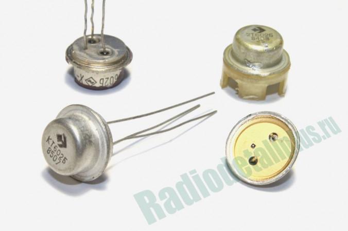 транзисторы в белом корпусе