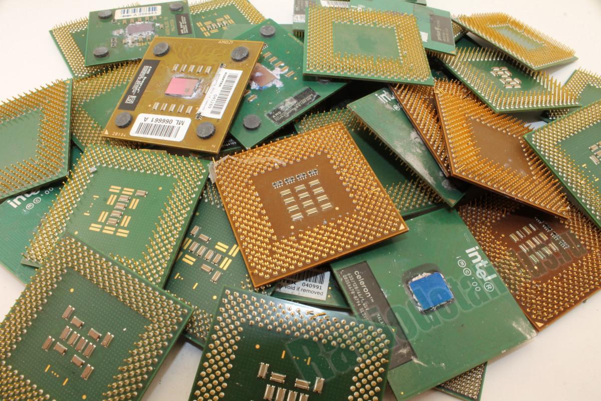 Процессоры на пластиковой основе, большой размер