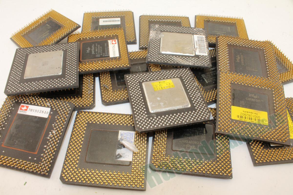Процессоры чёрный пластик