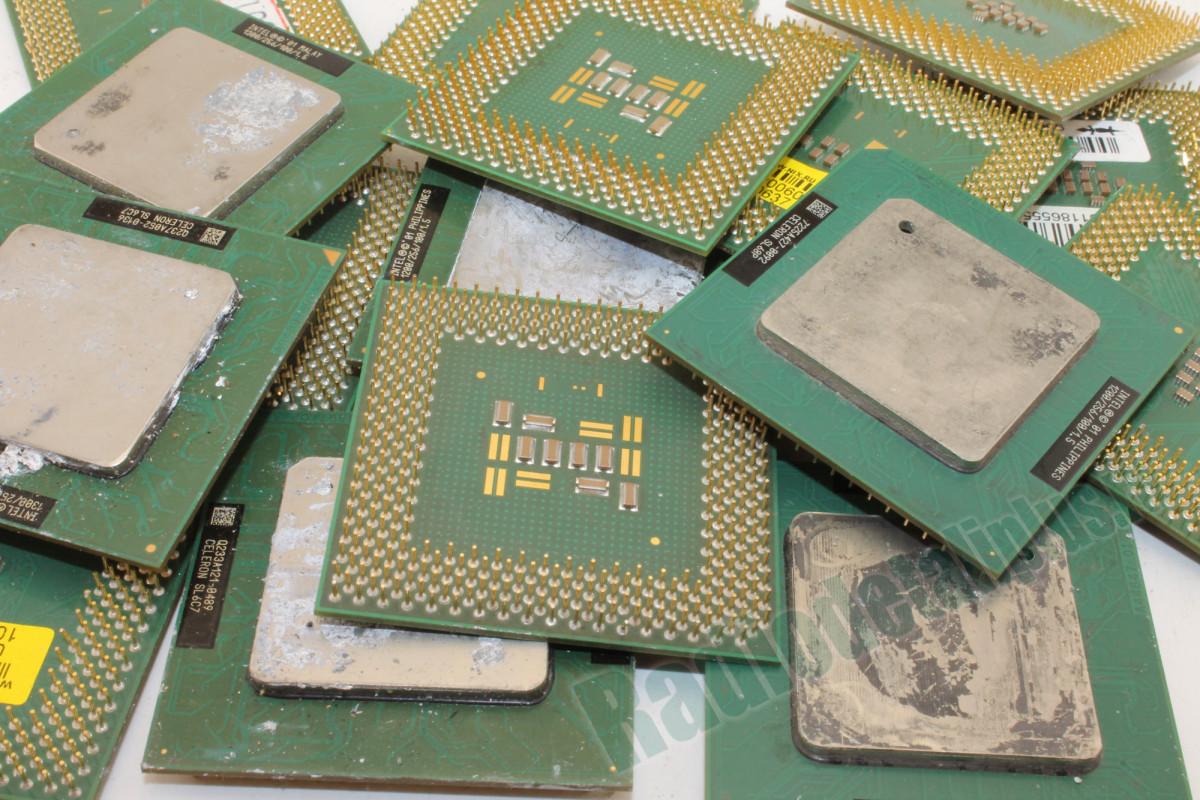 Процессоры на пластиковой основе с металлической пластиной