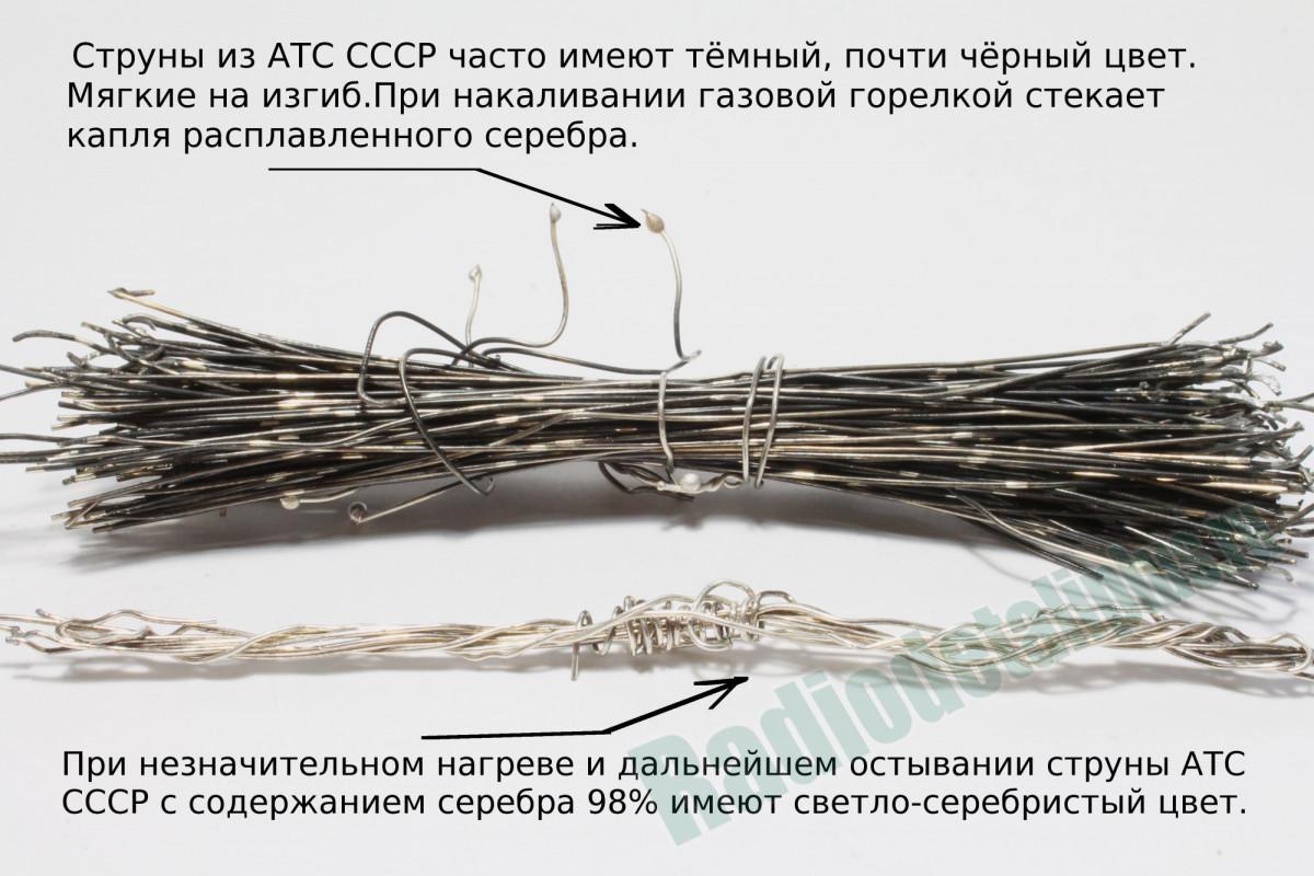 Струны от АТС СССР