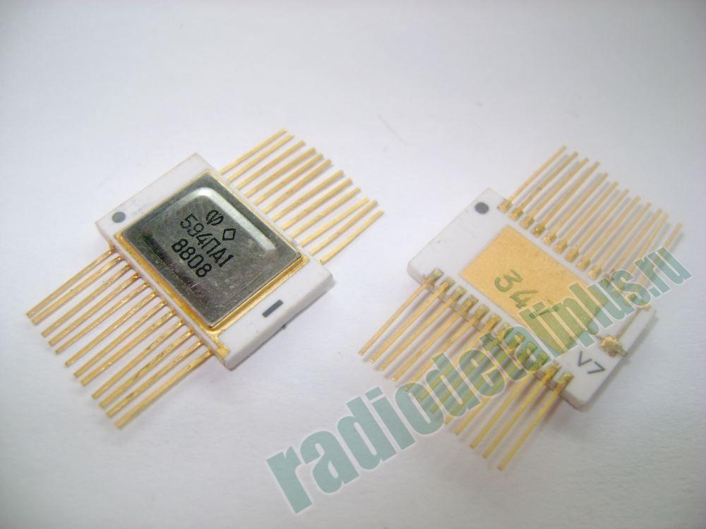 микросхемы 594ПА1